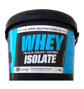 Whey Isolate + Entzymes  PPS Nutrition proteinisolat - Vassleprotein - 07530 - 1