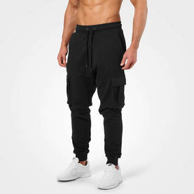 Better Bodies - Bronx Cargo Sweat Pant, Wash Black - Better Bodies Byxor - 06561 - 1
