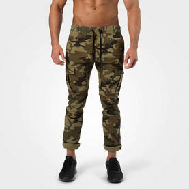 Harlem Cargo Pants, Military Camo - Better Bodies Byxor - 06351 - 1
