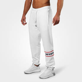 Better Bodies - Tribeca Sweatpants, White - Better Bodies Byxor - 07281 - 1
