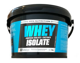 Whey Isolate + Entzymes  PPS Nutrition proteinisolat - Vassleprotein - 07321 - 1
