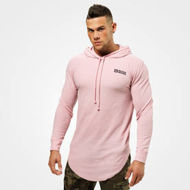 Better Bodies - Stanton Thermal Hood, Light Pink - Better Bodies Långärmade - 07042 - 1