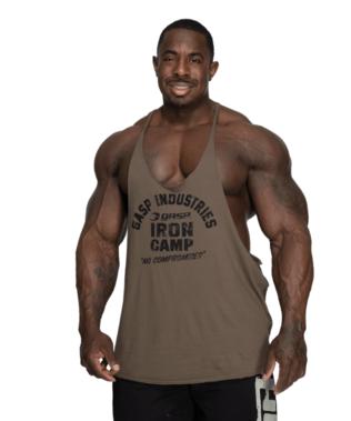 Trainings-Shirt Kraftsport-Shirt Muskelshirt GASP Vintage Tank Fitnesstop Tank-Top
