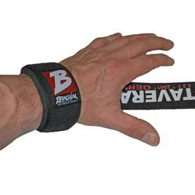 Brachial - Lifting Straps Strong, Black/Red - Brachial Utrustning - 06504 - 1