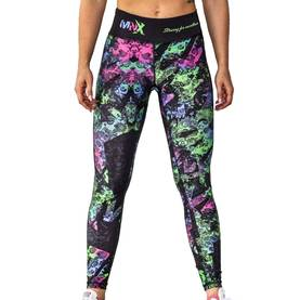 MNX Sportswear - Women's Leggings, Illuminated - MNX Sporswear Byxor - 02164 - 1