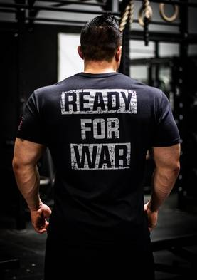 Iron Rebel Ready for War Men's T-shirt - Iron Rebel T-skjortor - 07077 - 1